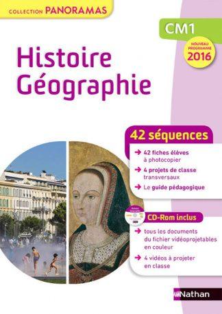 """Couverture de la ressource pédagogique """"Histoire-Géographie CM1"""""""