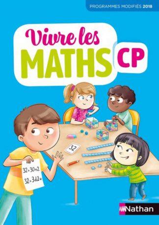 """Couverture de la ressource pédagogique """"Vivre les maths CP"""