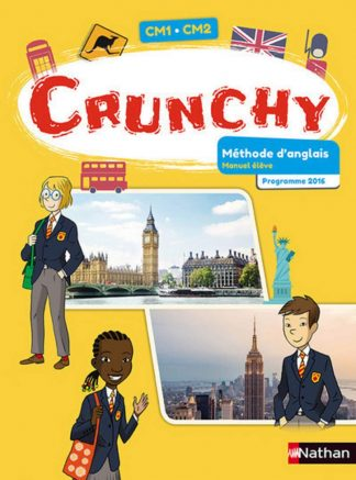 """Couverture de la ressource pédagogique """"Crunchy CM1/CM2"""""""
