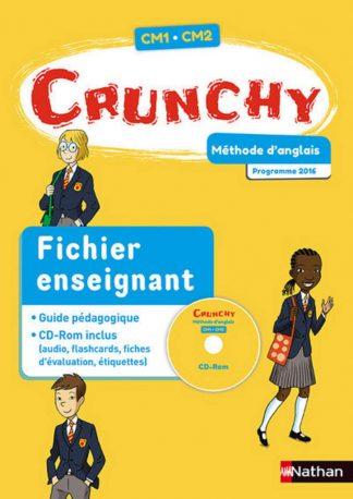 """Couverture de la ressource pédagogique """"Crunchy CM1/CM2"""