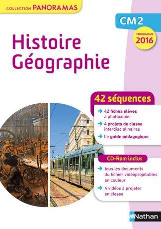"""Couverture de la ressource pédagogique """"Histoire-Géographie CM2"""""""