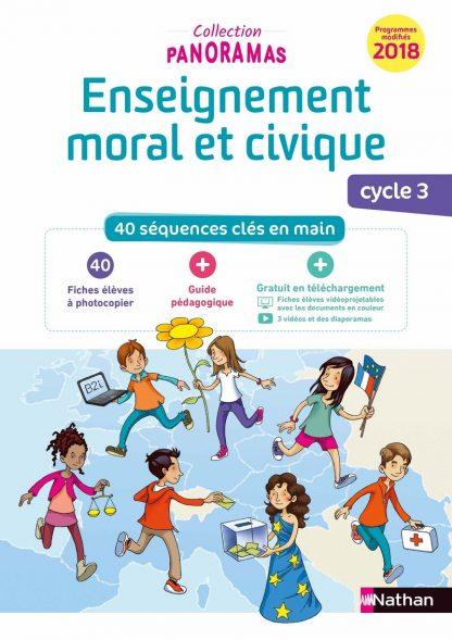 """Couverture de la ressource pédagogique """"Enseignement moral et civique"""