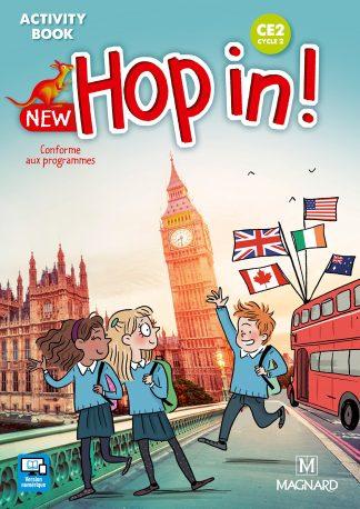 """Couverture de la ressource pédagogique """"New Hop in! CE2"""""""