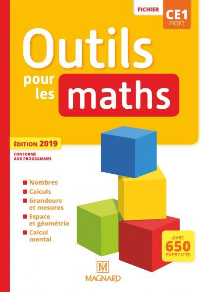 """Couverture de la ressource pédagogique """"Outils pour les Maths CE1 Fichier"""""""