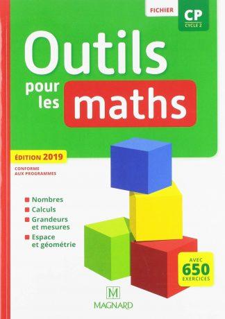 """Couverture de la ressource pédagogique """"Outils pour les Maths CP"""""""