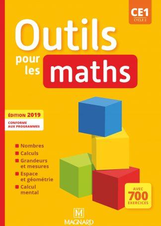 """Couverture de la ressource pédagogique """"Outils pour les Maths CE1 Manuel"""""""