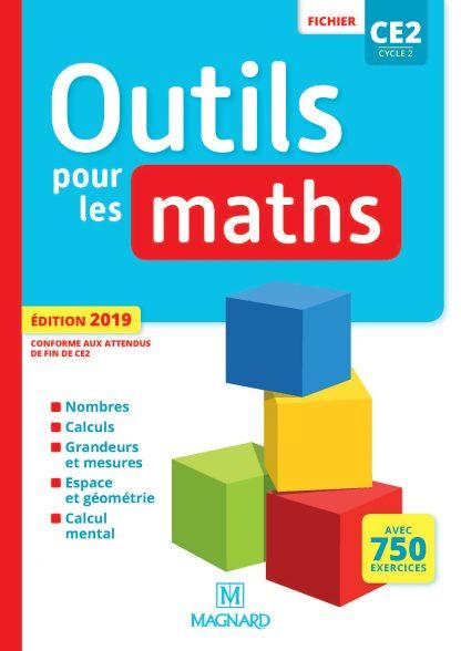 """Couverture de la ressource pédagogique """"Outils pour les Maths CE2 Fichier"""""""