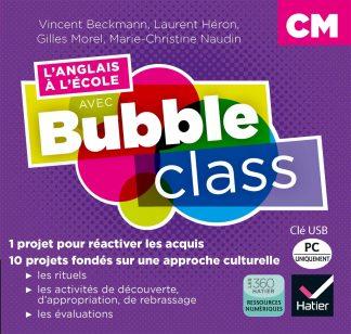 """Couverture de la ressource pédagogique """"L'anglais à l'école avec Bubble Class CM"""
