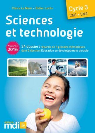 """Couverture de la ressource pédagogique """"Sciences et technologie CM"""""""