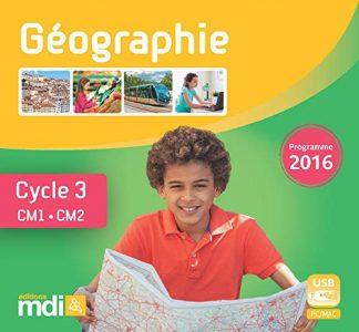 """Couverture de la ressource pédagogique """"Géographie CM"""