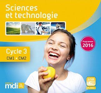 """Couverture de la ressource pédagogique """"Sciences et technologie CM"""