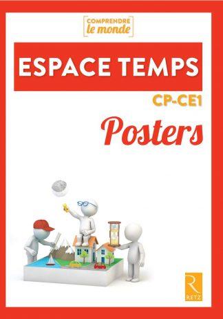 """Couverture de la ressource pédagogique """"Posters Espace Temps CP-CE1"""""""