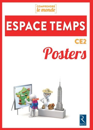 """Couverture de la ressource pédagogique """"Posters Espace Temps CE2"""""""