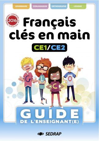 """Couverture de la ressource pédagogique """"Français clés en mains CE1/CE2"""