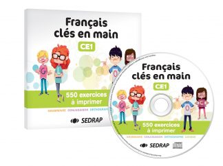 """Couverture de la ressource pédagogique """"Français clés en main CE1"""