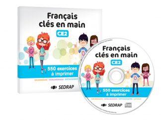 """Couverture de la ressource pédagogique """"Français clés en main CE2"""