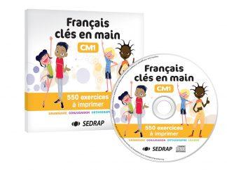 """Couverture de la ressource pédagogique """"Français clés en main CM1"""