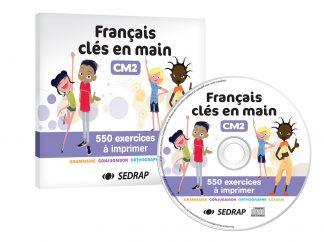"""Couverture de la ressource pédagogique """"Français clés en main CM2"""