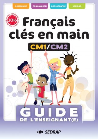 """Couverture de la ressource pédagogique """"Français clés en mains CM1/CM2"""