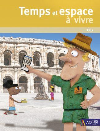 """Couverture de la ressource pédagogique """"Temps et espace a vivre CE2"""""""